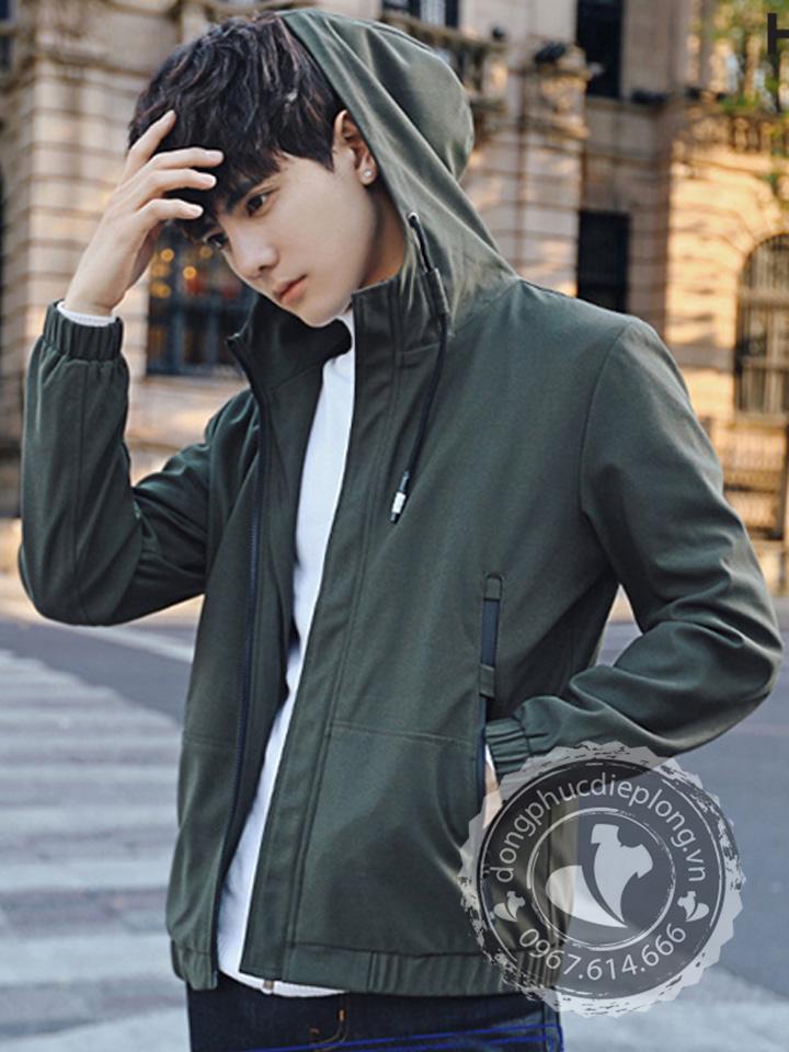 Kiểu dáng áo khoác gió đồng phục đẹp
