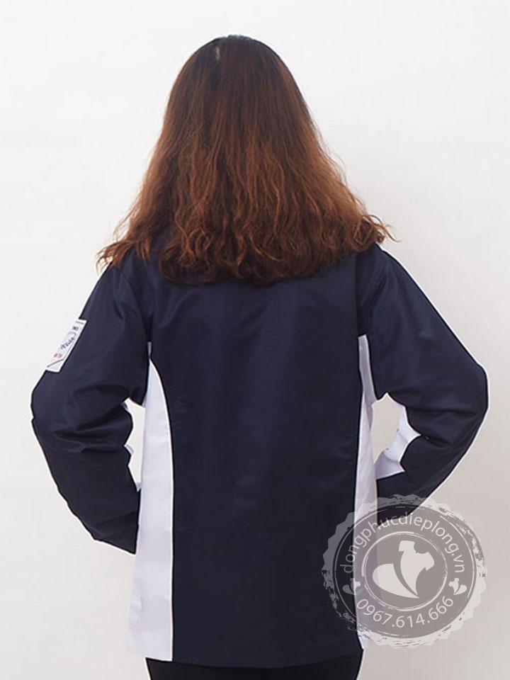 Áo khoác gió đồng phục thể hiện sự chuyên nghiệp đồng bộ