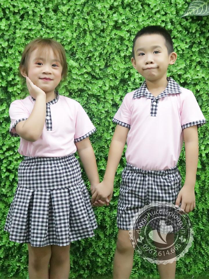 Đồng phục mầm non tạo vẻ đẹp đặc biệt cho trường học